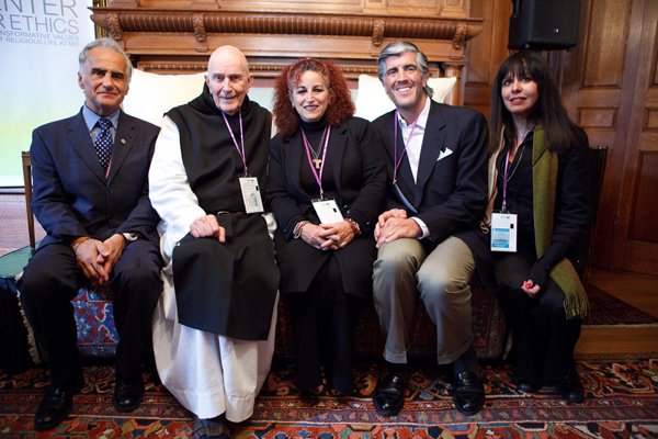 Philip Mangano, Fr. Thomas Keating, Angela Ailoto