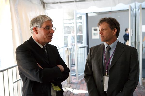 Professors John Essigmann and Edward DeLong