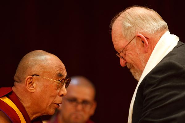 HH The Dalai Lama and Robert Randolph