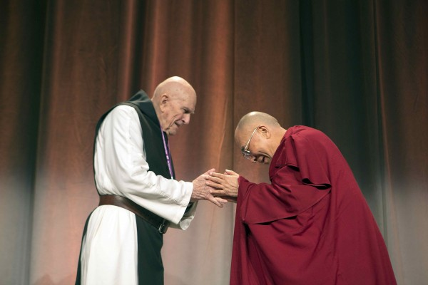 His Holiness the Dalai Lama & Fr. Thomas Keating