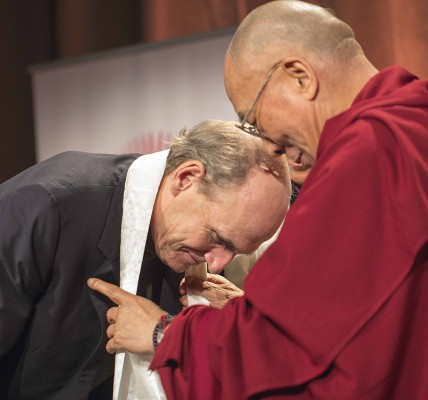 His Holiness the Dalai Lama & James Taylor