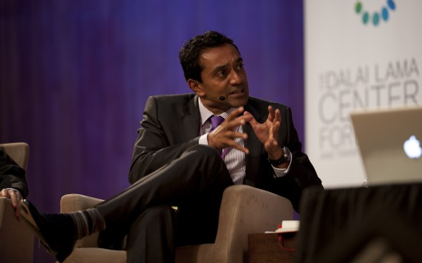 M. Sanjayan (Nature Conservancy) moderated Global Systems 2.0