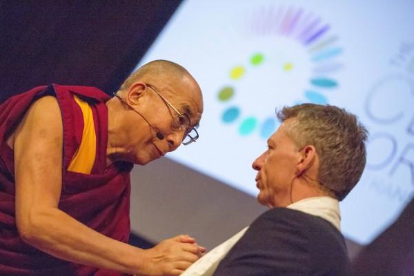 The Dalai Lama & James Orbinski (Médecins Sans Frontières)