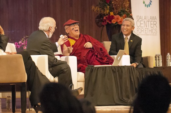The Dalai Lama & John Sterman (MIT)