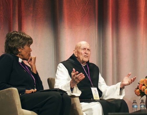 Fr. Thomas Keating & Rev. Liz Walker