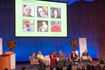 Panelists: The Dalai Lama, Marshall Ganz, Rebecca Henderson, Deborah Ancona, John Sterman
