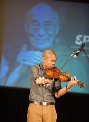 Violinist Adrian Ananatawan
